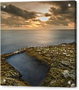 Island Sunset Acrylic Print by Tin Lung Chao