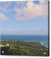 Island View From High Acrylic Print