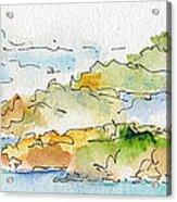 Islands In The Sun Acrylic Print