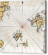 Islario General De Todas Las Islas Del Acrylic Print