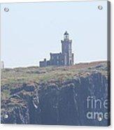Isle Of May Lighthouse's Acrylic Print