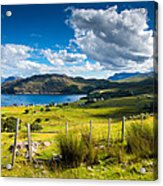 Isle Of Skye In Scotland Acrylic Print