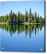 Isle Royale Reflections Acrylic Print