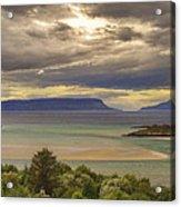 Isles Of Eigg And Rum Acrylic Print