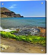 Isleta Del Moro Beach Acrylic Print