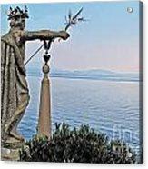 Isola Bella Lookout Acrylic Print