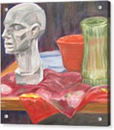 Isolated Head Acrylic Print
