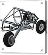 Isometric Lean Frame Transformer Transporter Acrylic Print