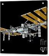 ISS Acrylic Print