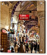 Istanbul Grand Bazaar 09 Acrylic Print