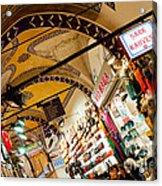 Istanbul Grand Bazaar 11 Acrylic Print