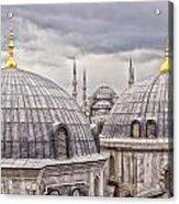 Istanbul Landmarks  Acrylic Print