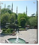 Istanbul Parki Acrylic Print