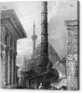 Istanbul: Porphyry Column Acrylic Print