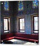 Istanbul Topkapi 1 Acrylic Print