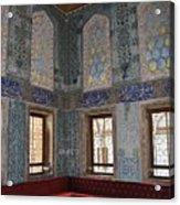 Istanbul Topkapi 2 Acrylic Print