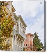 Istanbul Wooden Houses 01 Acrylic Print