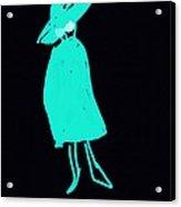It Girl Inverted Acrylic Print