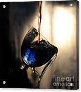 It Is Red And Blue Acrylic Print