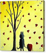It Must Be Love By Shawna Erback Acrylic Print