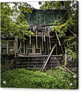 It Was Once Christmas Here Acrylic Print by Gary Heller