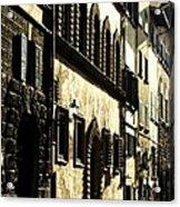 Italian Facades  Acrylic Print