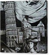 Italian Fantasies. Pisa Acrylic Print