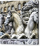 Italian Fountain Acrylic Print