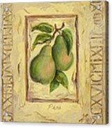 Italian Fruit Pears Acrylic Print