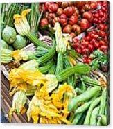 Italian Market Acrylic Print