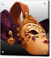 Italian Masquerade Acrylic Print