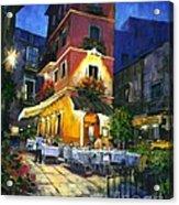 Italian Nights Acrylic Print