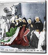 Italian Nuns Acrylic Print