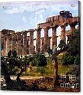 Italian Ruins 1 Acrylic Print