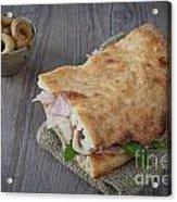 Italian Sandwich Acrylic Print
