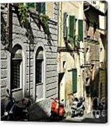 Italian Scooters Acrylic Print