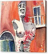 Italian Sculptures 05 Acrylic Print