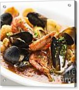 Italian Seafood Stew Acrylic Print