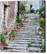 Italian Stairway Acrylic Print