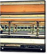 Italian Train Station Acrylic Print
