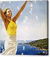 Italian Travel Poster, 1951 Acrylic Print