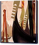 Italian Travel Poster, C1920 Acrylic Print