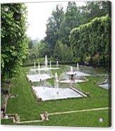 Italian Water Garden Acrylic Print