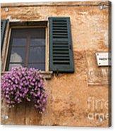 Italian Window Acrylic Print