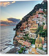 Italy, Amalfi Coast, Positano Acrylic Print