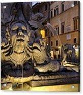 Italy. Lazio. Rome. Rome. Piazza Della Acrylic Print