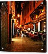 Bologna Italy Night  Scene Acrylic Print