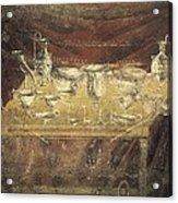 Italy. Pompeii. Vesuvius Gate. Tomb Acrylic Print