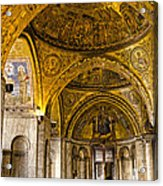 Italy - St Marks Basiclica Venice Acrylic Print