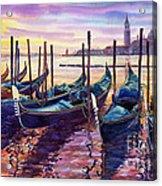 Italy Venice Early Mornings Acrylic Print